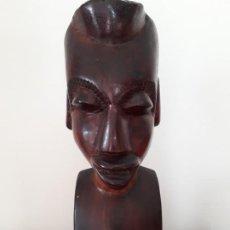 Artesanía: BUSTO AFRICANO. Lote 194963878