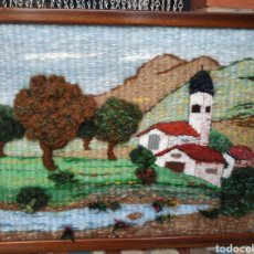 Artesanía: TAPIZ DE MACRAME. Lote 194983970