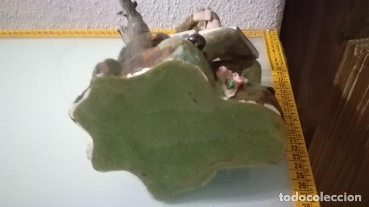 Artesanía: FIGURA PINTOR CERAMICA MEDIDAS APROXIMADAS 29 X 22 CM - Foto 7 - 195249680