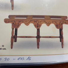 Artesanato e Manualidades: CANTARERA MADERA 3 PLAZAS , FALDÓN FILIGRANA .120X59X40. Lote 195371168
