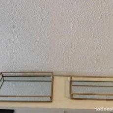 Artesanía: BANDEJAS ESPEJO IDEALES. Lote 195477936