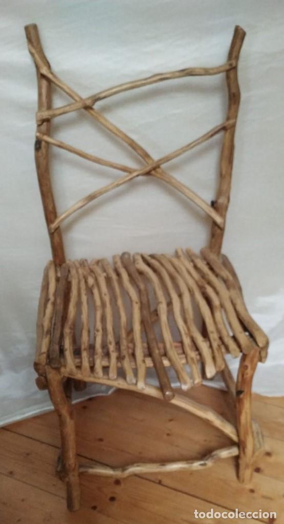 Artesanía: silla de roble - Foto 2 - 201837962
