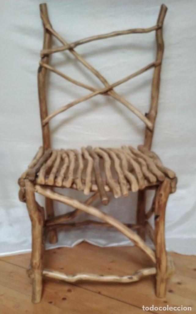 Artesanía: silla de roble - Foto 3 - 201837962