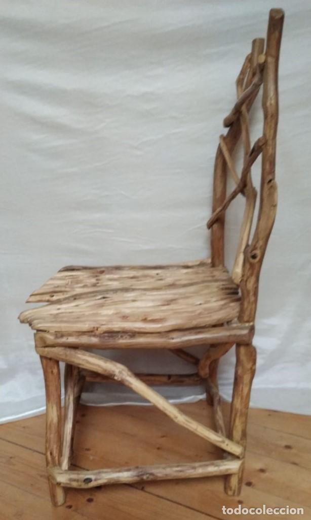 Artesanía: silla de roble - Foto 4 - 201837962