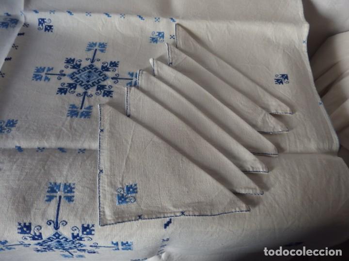 Artesanía: MANTEL DE HILO BORDADO LAGARTERA - Foto 3 - 204194015