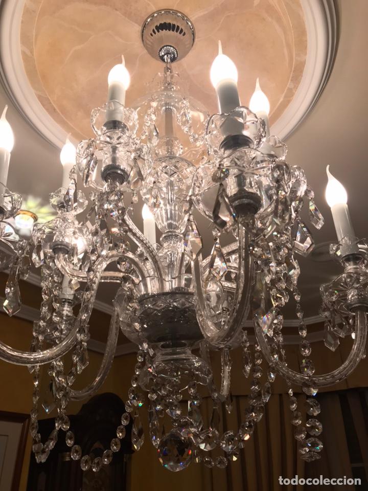 Artesanía: Lámpara de cristal de bohemia - Foto 2 - 205233233