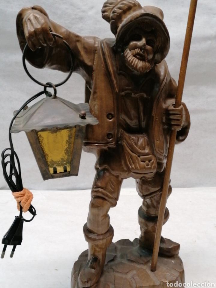 Artesanía: Lámpara de madera - Foto 3 - 207375282
