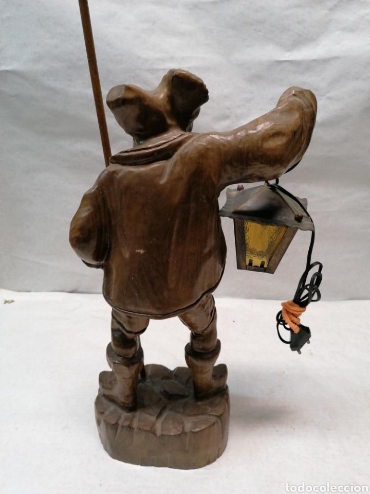 Artesanía: Lámpara de madera - Foto 4 - 207375282