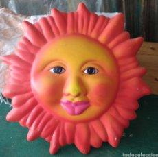 Artesanía: SOL SOLET. PLAFÓN ESCAYOLA DECORADO.. Lote 209122281