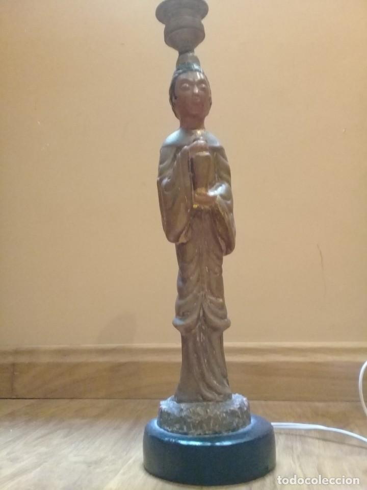 Artesanía: Original lámpara oriental de arcilla - Foto 3 - 209644435