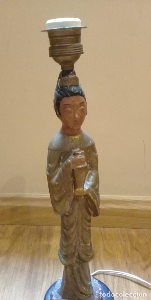 Artesanía: Original lámpara oriental de arcilla - Foto 2 - 209644435