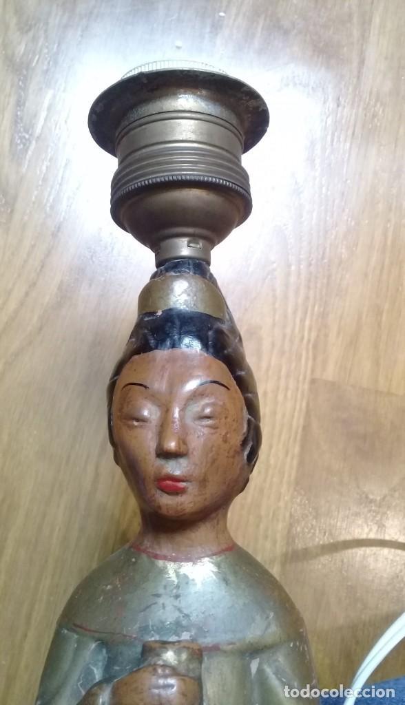 Artesanía: Original lámpara oriental de arcilla - Foto 4 - 209644435