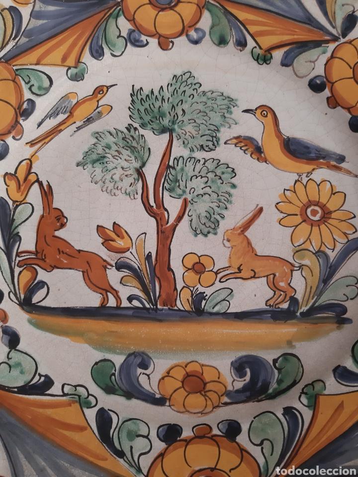 Artesanía: Plato ceramica catalana Camaró s XX - Foto 3 - 210462945