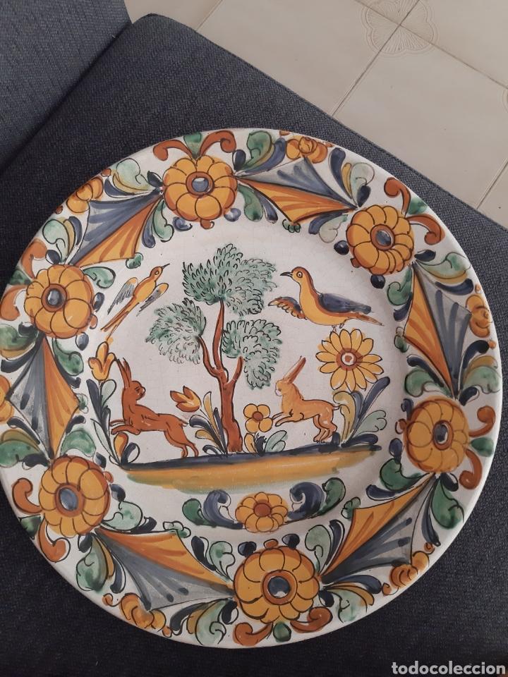Artesanía: Plato ceramica catalana Camaró s XX - Foto 4 - 210462945
