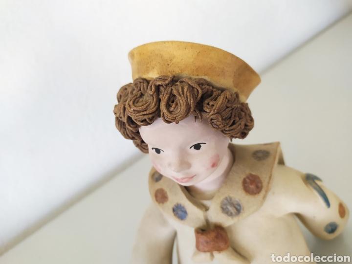 Artesanía: Figura escultura cerámica terracota figurita marinero muñeco - Foto 3 - 211485081