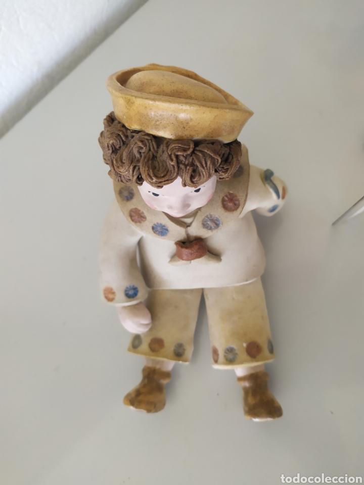 Artesanía: Figura escultura cerámica terracota figurita marinero muñeco - Foto 4 - 211485081