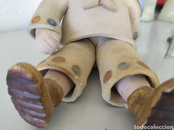 Artesanía: Figura escultura cerámica terracota figurita marinero muñeco - Foto 5 - 211485081