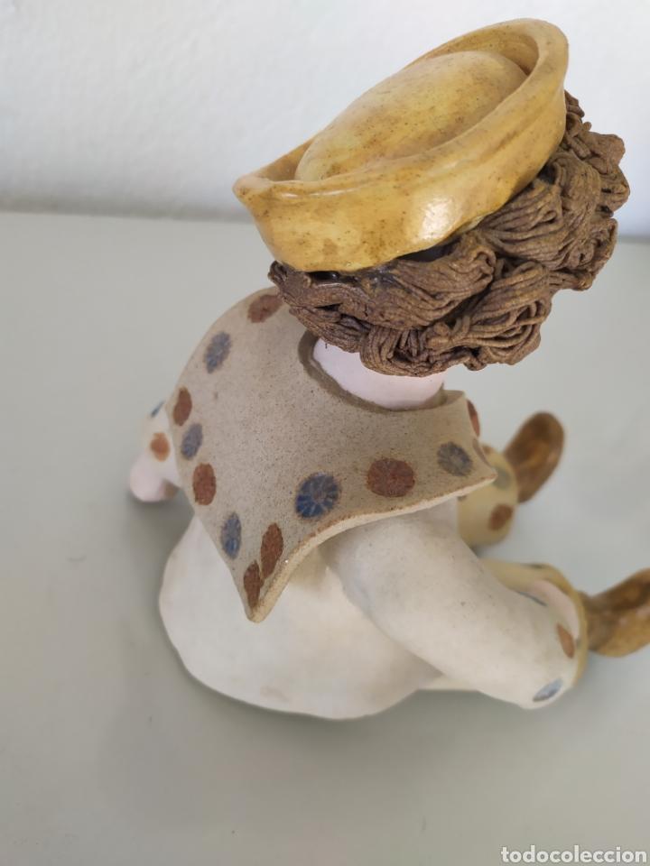 Artesanía: Figura escultura cerámica terracota figurita marinero muñeco - Foto 8 - 211485081