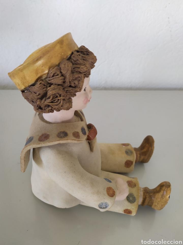 Artesanía: Figura escultura cerámica terracota figurita marinero muñeco - Foto 9 - 211485081