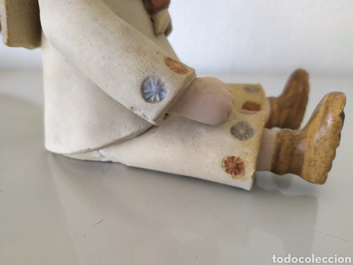 Artesanía: Figura escultura cerámica terracota figurita marinero muñeco - Foto 10 - 211485081