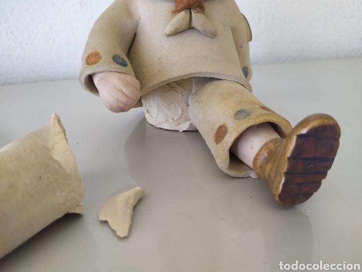 Artesanía: Figura escultura cerámica terracota figurita marinero muñeco - Foto 12 - 211485081