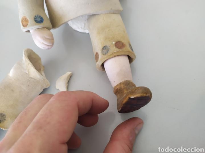 Artesanía: Figura escultura cerámica terracota figurita marinero muñeco - Foto 16 - 211485081