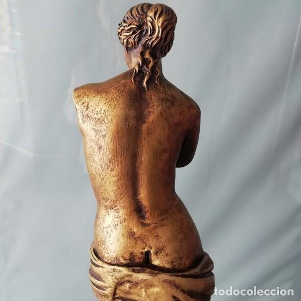 Artesanía: VENUS DE MILO DE 42 CM. FIGURA DECORATIVA - Foto 8 - 215638646