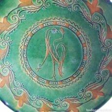 Artesanía: PLATO DECORATIVO PRIMERA ÉPOCA DE MELCHOR TITO UBEDA (JAEN). Lote 216446617