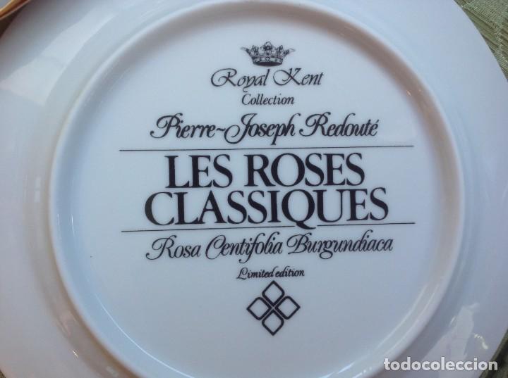 Artesanía: Juego de 12 platos porcelana Royal Kent - Foto 2 - 222306953