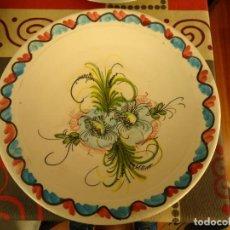 Artesanía: PLATO CERAMICA DECORADO. Lote 225119865