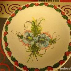 Artesanía: PLATO CERAMICA DECORADO. Lote 225120425