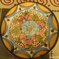 Artesanía: PLATO CERAMICA DECORADO. Lote 225121040