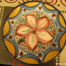 Artesanía: PLATO CERAMICA DECORADO. Lote 225125510