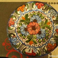 Artesanía: PLATO CERAMICA DECORADO. Lote 225126350