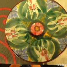 Artesanía: PLATO CERAMICA DECORADO. Lote 225127400