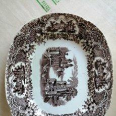 Artesanía: PLATO PORCELANA PICKMAN SEVILLA. Lote 238430715