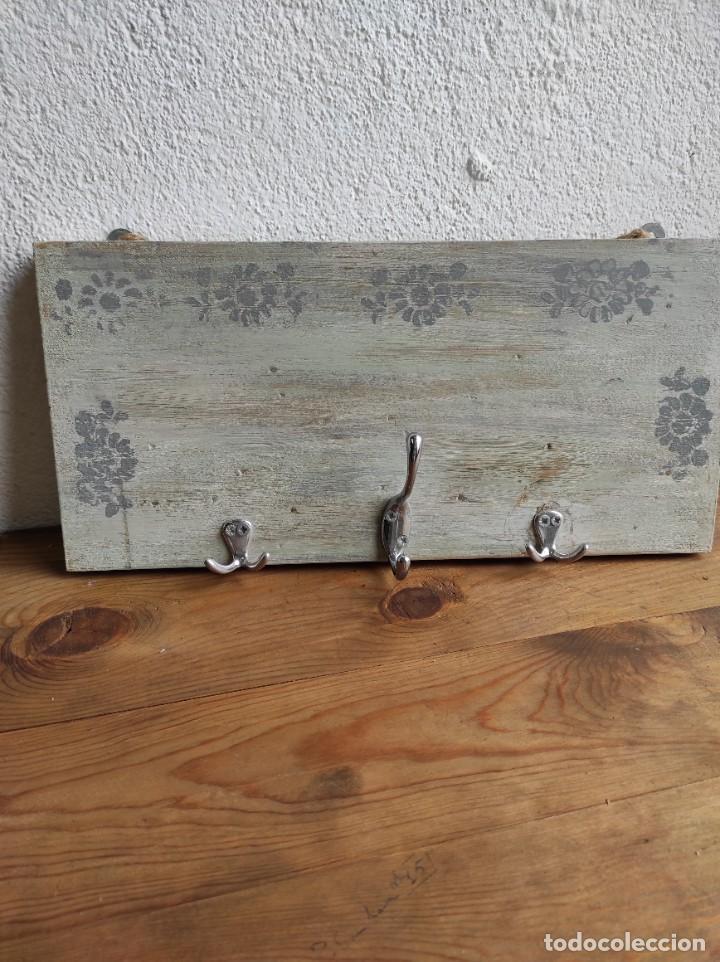 Artesanía: Perchero de pared de madera - Foto 2 - 239857715