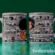 Artesanía: MAFALDA GUITARRISTA MR TAZA MUG CUP TAZAS. Lote 243706050