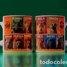 Artesanía: PERSONAJES DEL REY LEON MR TAZA MUG CUP. Lote 243715225