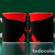 Artesanía: SILUETAS BATMAN VS SUPERMAN MR TAZA MUG CUP. Lote 243718305