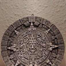 Artesanía: PIEDRA DEL SOL CALENDARIO AZTECA. Lote 246127675