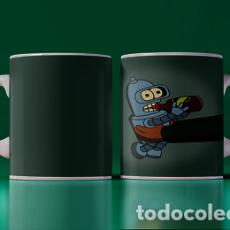Artesanía: BENDER BEBE MR TAZA MUG CUP TAZAS. Lote 246386185