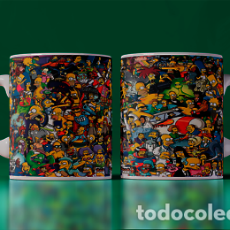 Artesanía: UNIVERSO SIMPSONS MR TAZA MUG CUP TAZAS. Lote 246386460