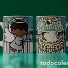 Artesanía: ANGELITO NEGRO MR TAZA MUG CUP. Lote 246390530