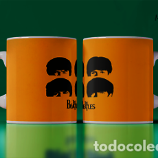 Artesanía: THE BEATLES CORONILLAS DE ELLOS MR TAZA MUG CUP. Lote 246393510