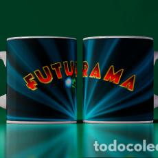 Artesanía: FUTURAMA LOGO Y NAVE MR TAZA MUG CUP TAZAS. Lote 246396085