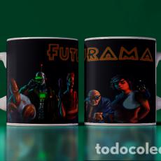 Artesanía: FUTURAMA ACTION LIVE MR TAZA MUG CUP TAZAS. Lote 246396815