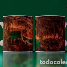 Artesanía: TAZAS BELLAS CUEVAS DEL DRACH MALLORCA MR TAZA MUG CUP. Lote 246396835
