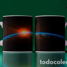 Artesanía: TAZA HERMOSA FOTO ENTRE EL SOL Y LA TIERRA MR TAZA MUG CUP. Lote 246419010