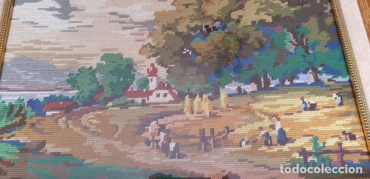 Artesanía: Cuadro bordado en petit point - Foto 3 - 253781170